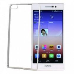 Capas Silicone Huawei Transparente