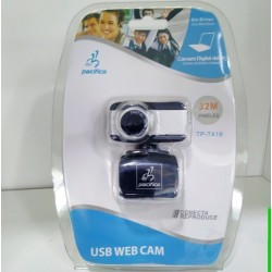 WEBCAM HD TP-T419 32 MPX PRETO c/ MICRO