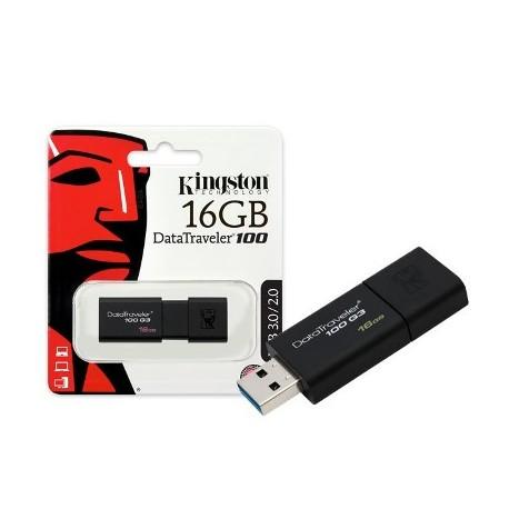 Pen Disk KINGSTON Datatraveler 100 - 16GB