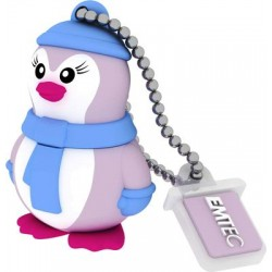 Pen Drive 16 GB Miss Penguin  - Emtec