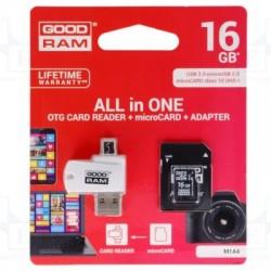 Cartão de Memória + Adaptador 16GB Good Ram