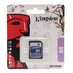 Cartão de Memória SDHC KINGSTON - 8GB