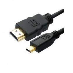 CABO HDMI PREMIUM MICRO-MALE -MALE – 3MT